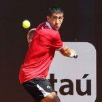 Hans Podlipnik cayó en cuartos de final de dobles en Gstaad