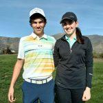 Jan Hellema y Carolina Alcaíno ganaron el selectivo de golf para los Juegos Sudamericanos de la Juventud