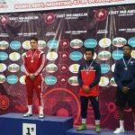 Jorge Gatica ganó medalla de bronce en el Panamericano Cadete de Lucha Olímpica