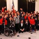 En La Moneda se realizó el lanzamiento de los II Juegos Sudamericanos de la Juventud Santiago 2017