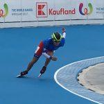 María José Moya obtuvo el cuarto lugar de los 300 metros contrarreloj en los World Games