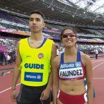 Margarita Faúndez y Paula Guzmán no avanzaron a la final de 800 metros en el Mundial de Atletismo Paralímpico