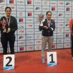 Paulina Vega y Felipe Olivares ganaron el segundo Nacional Todo Competidor de Tenis de Mesa