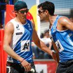 Primos Grimalt debutan con un triunfo en el Mundial de Volleyball Playa