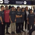 Seleccionados chilenos viajaron a Tailandia para disputar el Mundial de la clase Optimist
