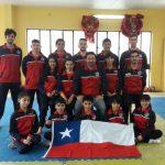 Este martes viajó parte de la Selección Chilena de Wushu que competirá en el Sudamericano de Uruguay