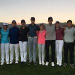 Christian Dyas, Jan Hellema y Antonia Matte lideran el selectivo de golf para Santiago 2017
