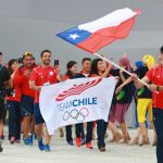 Con Emanuelle Silva como abanderado desfiló la delegación chilena en la ceremonia inaugural de los World Games