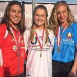 Valentina González gana medalla de bronce en el Mundial U21 de Esquí Náutico