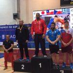 Yasmani Acosta gana medalla de oro en el Grand Prix de Madrid de Lucha Olímpica