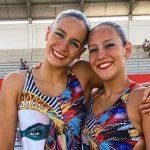 Isidora Letelier y Bianca Consigliere obtuvieron el puesto 34 en nado sincronizado del Mundial de Natación
