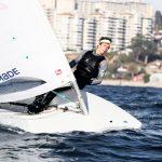 Clemente Seguel se mantiene séptimo en la Semana Internacional de Yachting de Mar del Plata