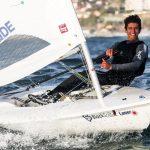 Clemente Seguel clasificó a la Medal Race de la Semana Internacional de Yachting de Mar del Plata