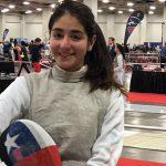 Katina Proestakis obtuvo el lugar 14 en el USA Fencing National Championships