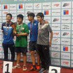 Valentina Ríos y Jeremías Paredes ganaron el segundo Nacional Infantil de Tenis de Mesa