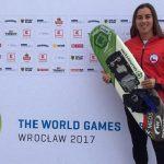 Valentina González clasificó a la final de figuras del esquí náutico en los World Games