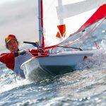 Clemente Seguel debutó con un segundo lugar en el Mundial Adulto de Sunfish