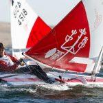 Clemente Seguel pasó a liderar el Mundial de Sunfish