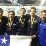 Chile cerró su participación en la Copa Pacífico y Copa Julio Maglione de Natación con nuevas medallas