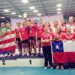 Chile obtiene medalla de bronce por equipos en el Latinoamericano Infantil de Tenis de Mesa