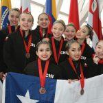 Chile cerró con un bronce su participación en el Panamericano de Nado Sincronizado