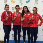 Chile logró una importante cosecha de medallas en el Panamericano Junior, Cadete y U21 de Karate