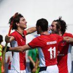 Selección Chilena Masculina debutó con una goleada en la Copa Panamericana de Hockey Césped