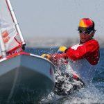 Clemente Seguel no navegó este martes por suspensión de la jornada del Mundial de Sunfish