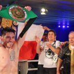 """Cristián """"Tigre"""" Palma se tituló campeón sudamericano peso pluma del CMB"""