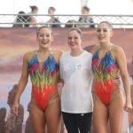 Isidora Letelier y Bianca Consigliere ganaron el tercer oro chileno en el Panamericano de Nado Sincronizado
