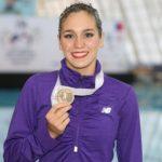 Isidora Letelier obtuvo una nueva medalla de oro en el Panamericano de Nado Sincronizado