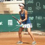Ivania Martinich cayó en semifinales de dobles del ITF de Mragowo