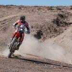 El argentino Kevin Benavides toma el liderato de las motos en el Atacama Rally