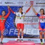 Khamila Sepúlveda obtuvo medalla de bronce en la contrarreloj individual del Panamericano Junior de Ciclismo
