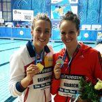 Kristel Köbrich gana medalla de plata en fecha rusa de la Copa del Mundo de Natación