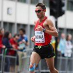 Leslie Encina fue el chileno mejor ubicado en el maratón del Mundial de Atletismo
