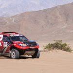 Luis Ignacio Rosselot ganó la primera jornada del Rally de Huasco