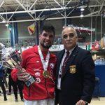 Rodrigo Rojas se titula campeón mundial en el JKA World Championships de Karate