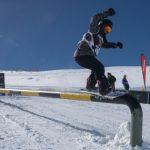Riders chilenos se lucieron en la primera fecha del Circuito Internacional de Ski