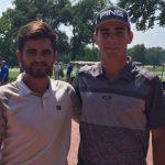 Tomás Gana y Joaquín Niemann tuvieron un buen debut en el Western Amateur Championship