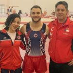 Tomás González clasificó a la final de suelo del Panamericano de Gimnasia Artística