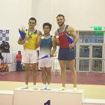 Tomás González obtuvo medalla de bronce en la final de suelo del Panamericano de Gimnasia Artística