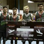 UST Talca ganó torneo satélite de básquetbol 3x3 y representará a Chile en Challenger de Berlín