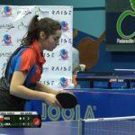 Valentina Ríos se tituló campeona del Latinoamericano Infantil de Tenis de Mesa