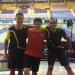 Alonso Medel ganó medalla de bronce en el Guatemala International Junior de Bádminton