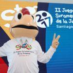Coné es la mascota oficial de los Juegos Sudamericanos de la Juventud Santiago 2017