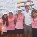 Chile se quedó con el título por equipos femenino del Sudamericano Pre Juvenil de Golf