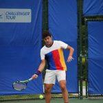 Christian Garin cayó en primera ronda de singles y dobles del Futuro 1 USA