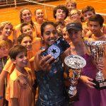 Daniela Seguel se tituló campeona de dobles del ITF de Saint-Malo