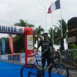 Felipe Barraza obtuvo medalla de bronce en el Triatlón de Tahiti